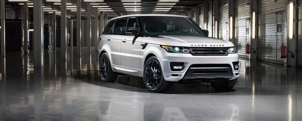 Land Rover anunta colectia Range Rover Sport Stealth Pack