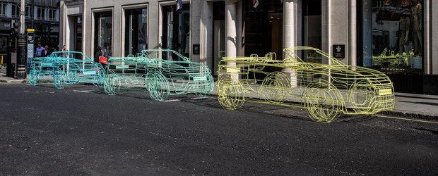 Land Rover anunta intr-un mod inedit lansarea noului Evoque Convertible