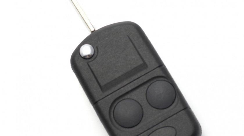 Land Rover Carcasa cheie tip briceag 2 butoane, cu pregatire chip