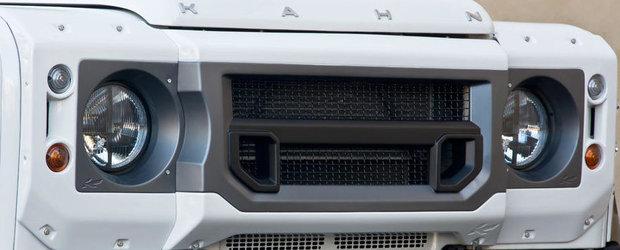 Land Rover Defender by Kahn: Cum sa-ti faci loc prin zapada, cu stil!