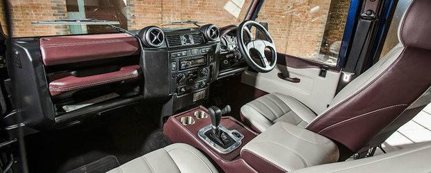 Land Rover Defender isi incheie cariera cu un tuning de top