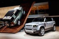Land Rover Defender la Frankfurt
