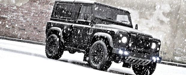 Land Rover Defender primeste un kit estetic de la Kahn Design