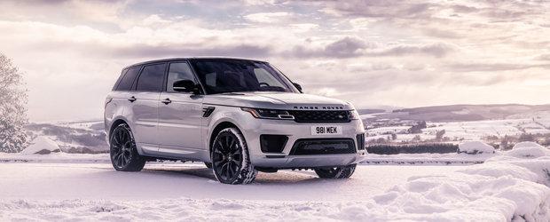Land Rover desface sampania. Modelul Range Rover Sport a ajuns la 1 milion de exemplare produse