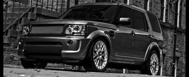 Land Rover Discovery primeste tratamentul Project Kahn
