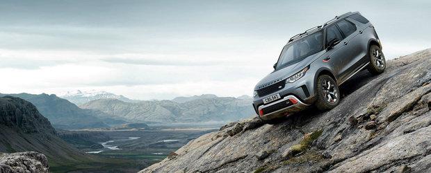 Land Rover Discovery SVX este noul vis al amatorilor de off-road: motor V8 si tot ce ti-ai putea inchipui
