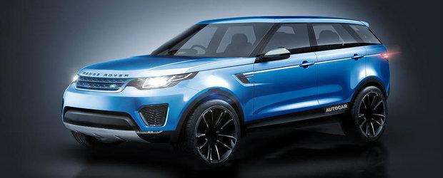 Land Rover intentioneaza sa lanseze un nou SUV coupe la Geneva