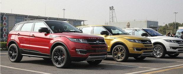 """Land Rover la cutite cu Jiangling Motors pentru Evoque versiunea """"Copy-Paste"""""""