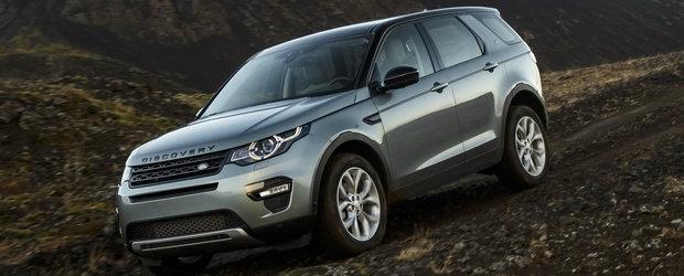 Land Rover pregateste un facelift pentru Discovery Sport. Vine in 2018 cu o surpriza in gama de motorizari