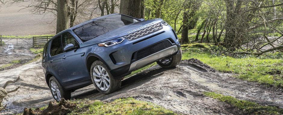 Land Rover prezinta noul Discovery Sport facelift. Imbunatatirile primite de off-road-erul britanic