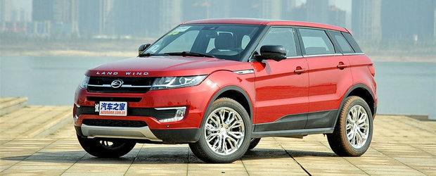 Land Rover s-a saturat de chinezii care-i copiaza modelele. Ce masuri iau britanicii