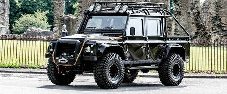 Land Rover-ul asta a fost vedeta filmului Spectre, iar acum poate fi al tau pentru pretul corect