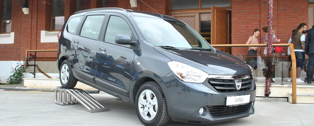 Lansare Dacia Lodgy in Romania: prima Dacie cu navigatie, pilot automat si scaune incalzite