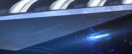 LASER, frate. Imagini nemaivazute pana acum cu noul Audi A7 Sportback