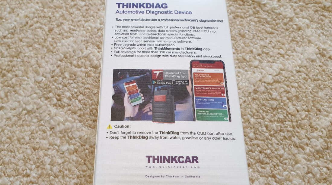 Launch Thinkdiag - Easydiag 4.0 Soft full original, update 2 ani pt Androis / iOS