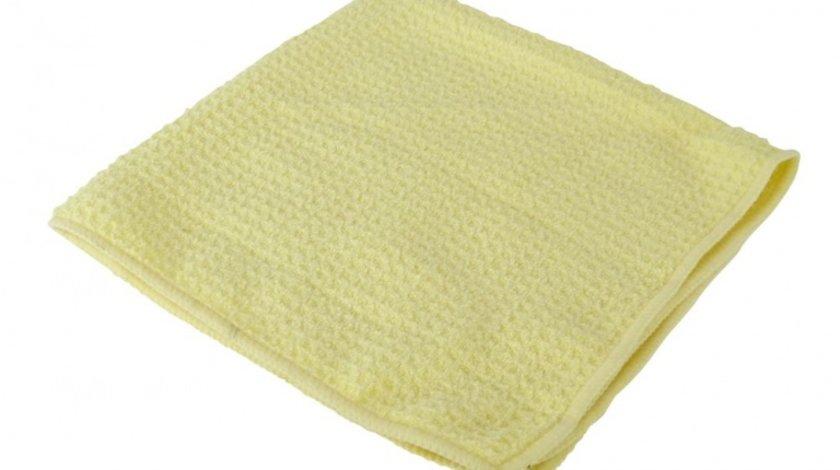 Laveta microfibre piele chamois pentru stergerea , uscarea masinii 40x40cm