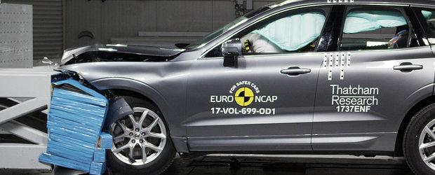 Le-a dat aparatele peste cap. Noul Volvo XC60 este masina cu cel mai bun scor din 2017 la Euro NCAP
