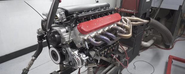 Le-a trebuit ani buni sa faca un motor V12 de 9.5 litri. Acum l-au terminat si suna DEMENTIAL