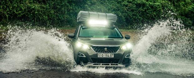 Le-au cerut celor de la Peugeot un 3008 pregatit de off-road. Exemplarul unicat arata cam asa