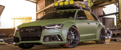 """Le face concurenta tunerilor din Europa. Un atelier din Africa de Sud este """"vinovat"""" pentru acest RS6"""
