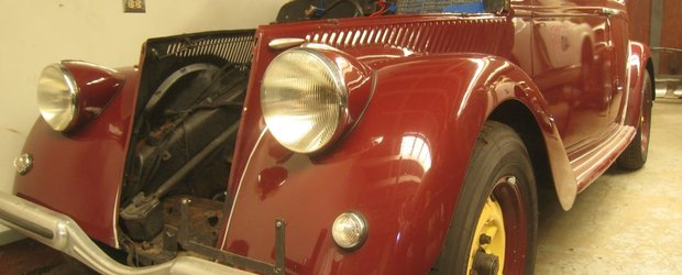 Lectii de restaurare: Lancia Aprilia '37