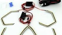LED ANGEL EYES compatibil E90,E92,E93, F30 fara lu...