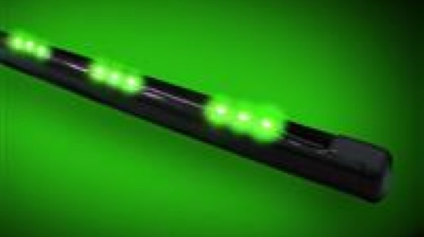 Led flexibil undercar cu telecomanda verde