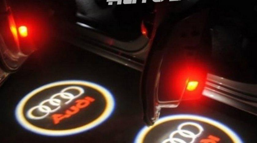 LED LOGO AUDI PENTRU PORTIERE - 79 LEI