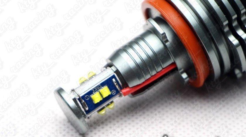 LED MARKER ANGEL EYES BMW 80W E60 E61 E70 E71 E82 E87 E88 E90 E91 E92 E93 F01 F02 E84 X1 X5 X6 H8