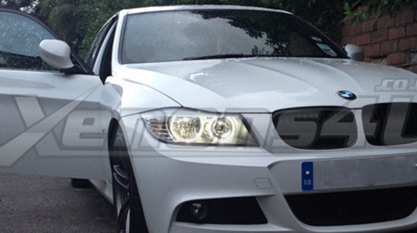 LED MARKER ANGEL EYES BMW E91 LCI HALOGEN 40W 1250 LUMENI