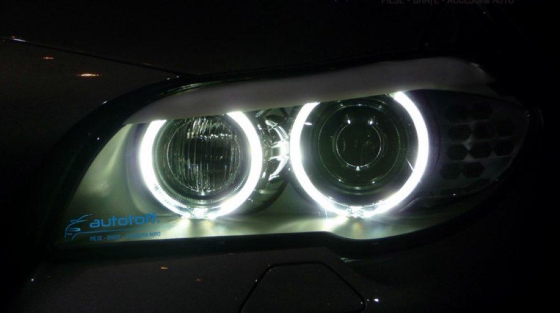 LED MARKER BMW F10 F11 - becuri angel eyes h8 40 watts