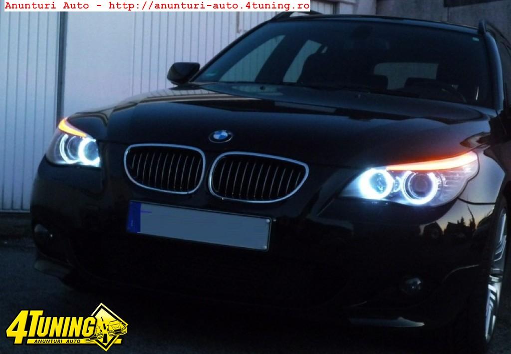 Led marker CREE 2 x10W HIGH POWER 6000K ptr angel eyes BMW E60 LCI E61 LCI