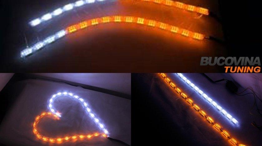 LEDURI PENTRU FARURI - Lumini de Zi si Semnalizare S8 LOOK - 240 LEI