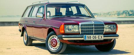 Legenda COBREI: chiar era MERCEDES-BENZ sa dea faliment din cauza celebrului W123?