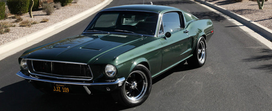 "Legendarul Ford Mustang folosit in filmul ""Bullitt"" a fost gasit"