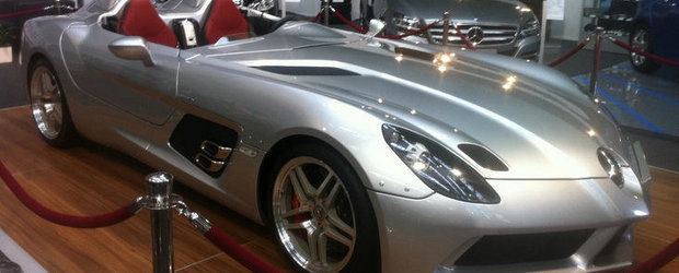 Legendarul Mercedes SLR Stirling Moss poate fi admirat la SAB 2012!