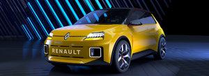 Legendarul Renault R5 se intoarce sub forma unui concept electric. GALERIE FOTO completa