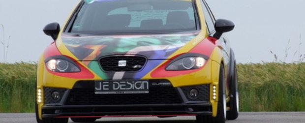 Leon Cupra R by Je Design - Un Seat pentru Cupa Mondiala