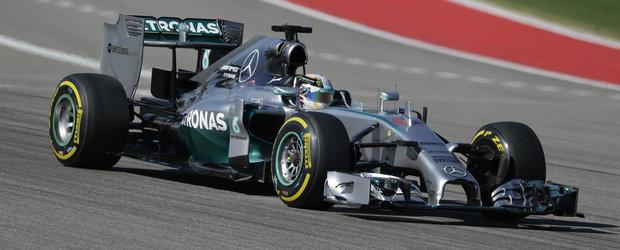 Lewis Hamilton castiga Marele Premiu al Statelor Unite