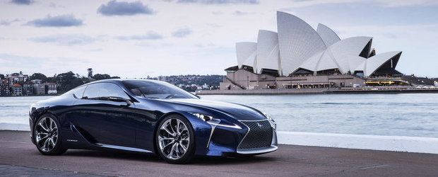 Lexus a prezentat in Australia conceptul LF-LC Blue