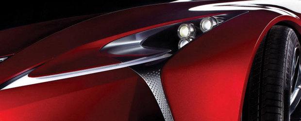 Lexus aduce un nou concept la Detroit Auto Show