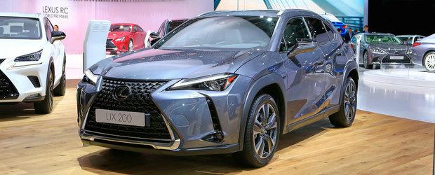 Lexus are planuri mari pentru noul SUV. Vrea sa bata BMW X2, Mercedes GLA si Audi Q3 la ele acasa