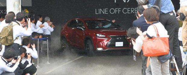 Lexus demareaza productia noului NX