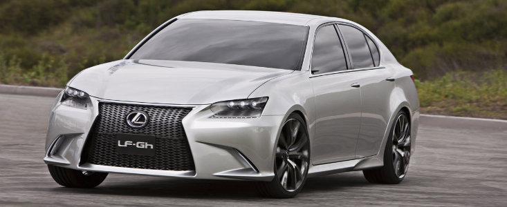 Lexus dezvaluie noul LF-Gh, un concept hibrid cu aspect dramatic