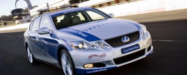 Lexus GS 450h, safety car in Australia