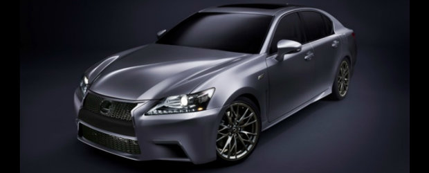 Lexus GS F - Un nou rival pentru BMW M5