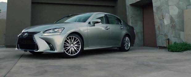 Lexus GS se reinnoieste tehnic si estetic pentru lupta cu BMW Seria 5 & Co.