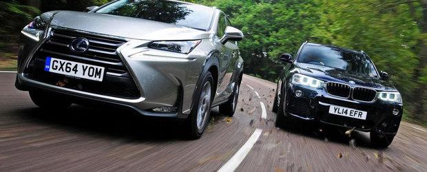 Lexus incearca sa ne convinga ca noul NX e mai bun ca BMW-ul X3