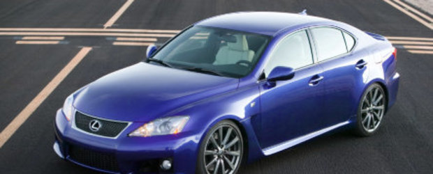 Lexus IS F 2008, pret de la 56000$