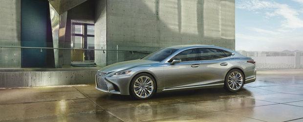 Lexus isi prezinta noua nava amiral la Salonul Auto de la Detroit